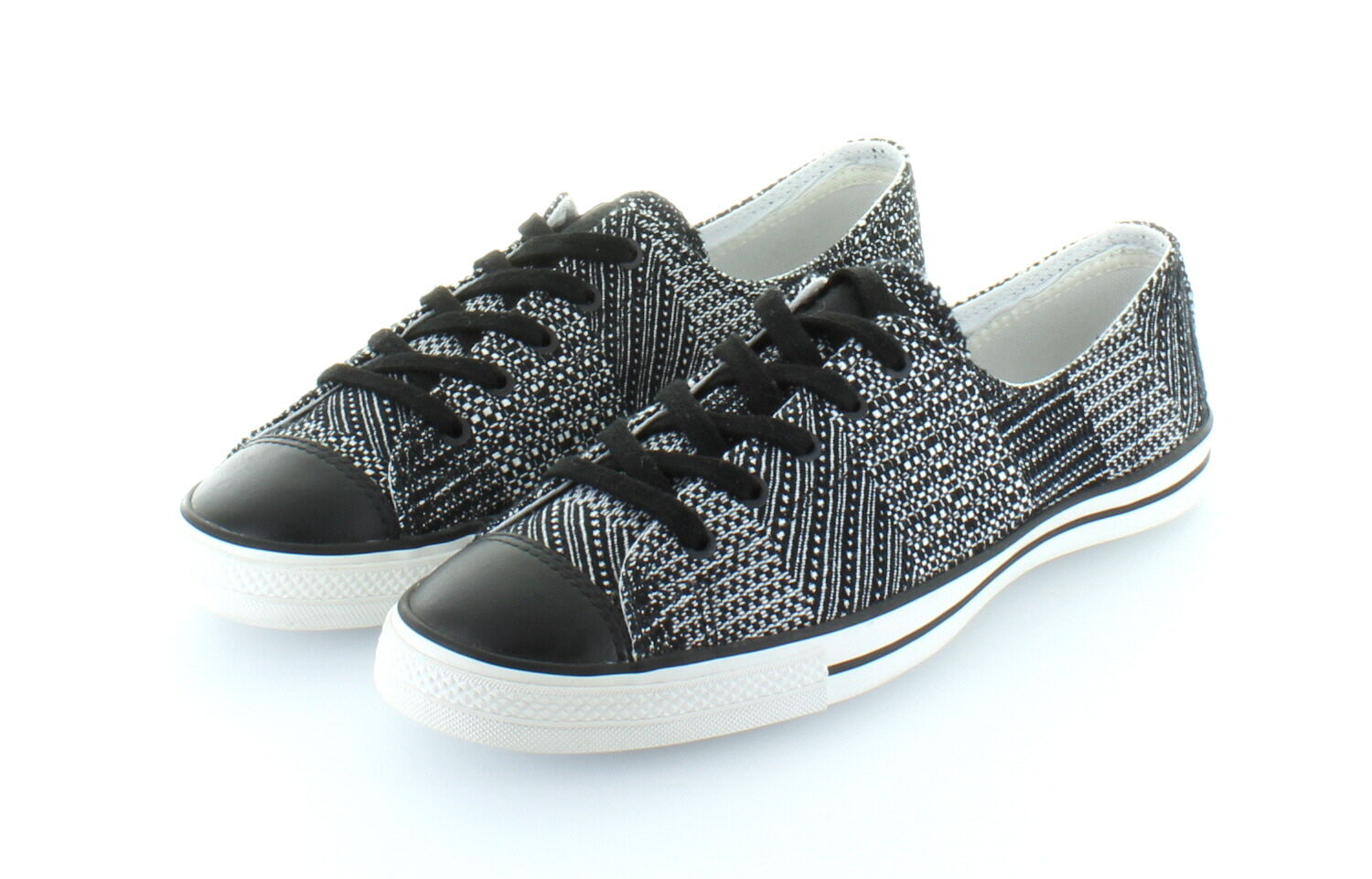 Converse All Star Chuck Taylor Ox Fancy Black BOYI /38