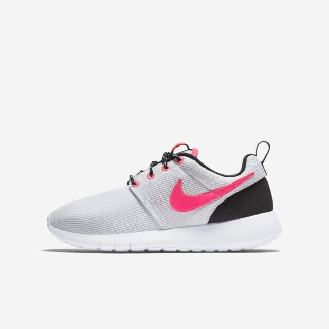 4860f4525af9 Nike Women Roshe One Trainers White - Pink Ladies Shoes Gym ROSHEONE ...
