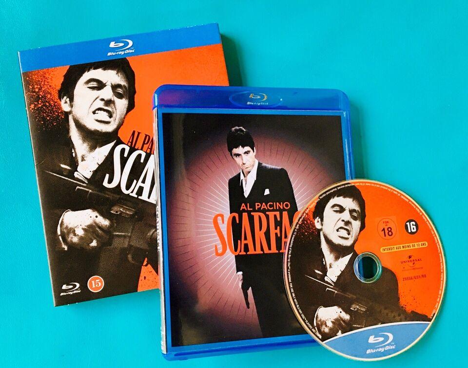Scarface, Blu-ray, drama