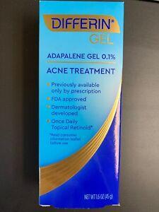 New Differin Gel Adapalene 0 1 Acne Treatment Gel 1 6oz New