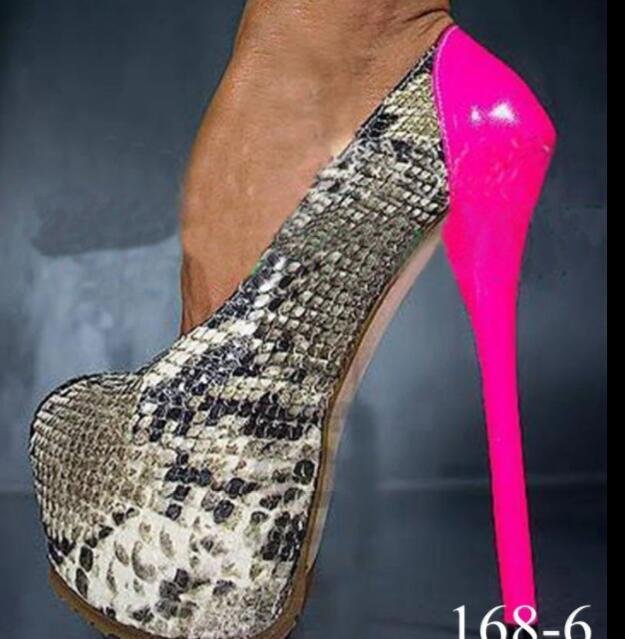 Chaussures Femme Plateforme Pompe Sz35-47 Sexy British Fashion Oxford Sexy Talon Haut Chaussures