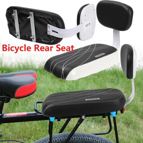 Safety Soft Bike Seat Pad Back Rear Seat Kids Back Saddle Rear Chair Rest