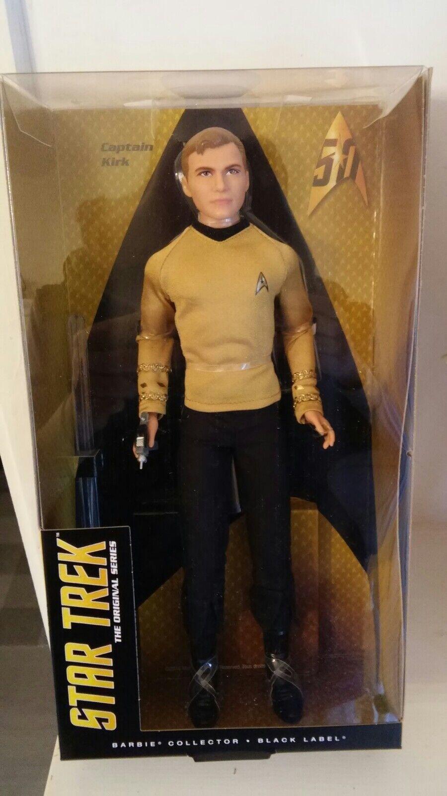 Ken as captain Kirk, the Star Trek, the original series 2016 nrfb