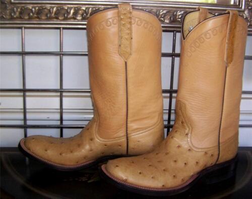 Herren Cowboy Of Sattel Voll B Stiefel Antik Rios 6 Damen Quill Strauß Mercedes H9W2IED