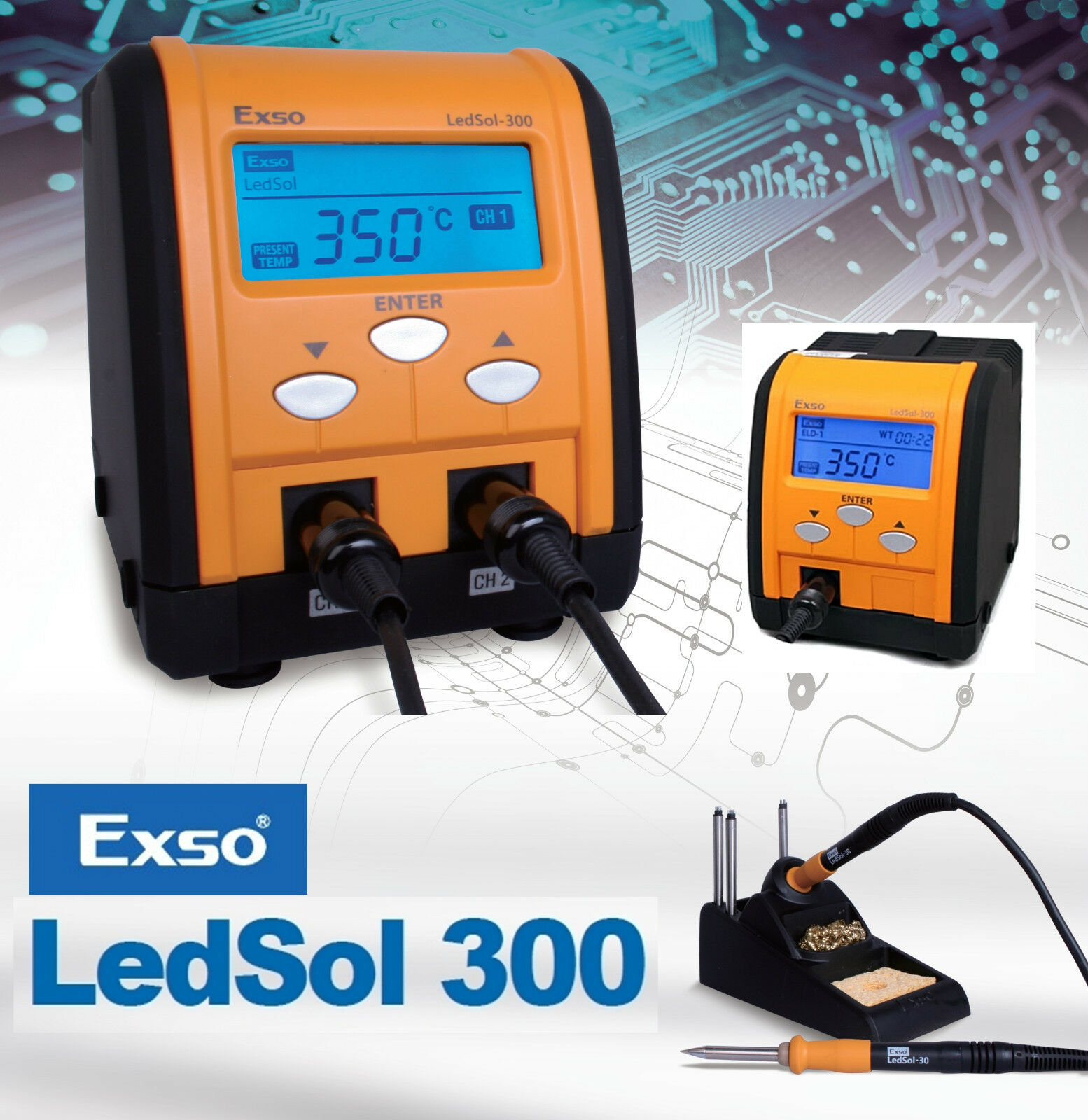 NEW EXSO Digital Soldering Station Accurate Control USE for SAMSUNG PHONE