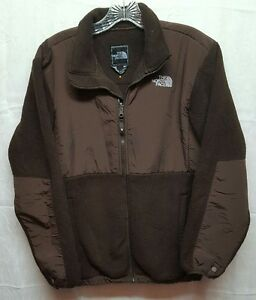 7d9d718f8 Details about North Face Girls Youth XL Chocolate Brown Denali Polartec  Fleece Jacket SpotDMG*