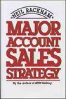 Major Account Sales Strategy Neil Rackham 9780070511149