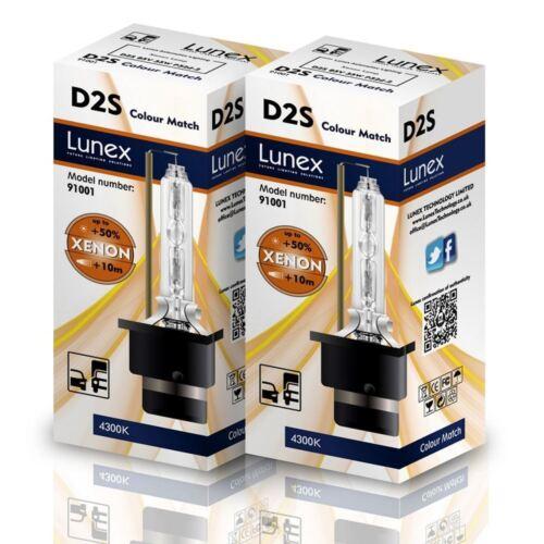 2 x D2S NEU Stück LUNEX 4300K HID XENON kompatibel mit 85122 66040 66240 53500