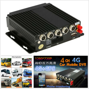 Car-Mobile-4CH-DVR-SD-Card-3G-4G-Wifi-GPS-Antenna-Realtime-Video-Recorder-Remote