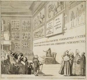 Chodowiecki (1726-1801). dal giusto rapporto; pressione grafico 2