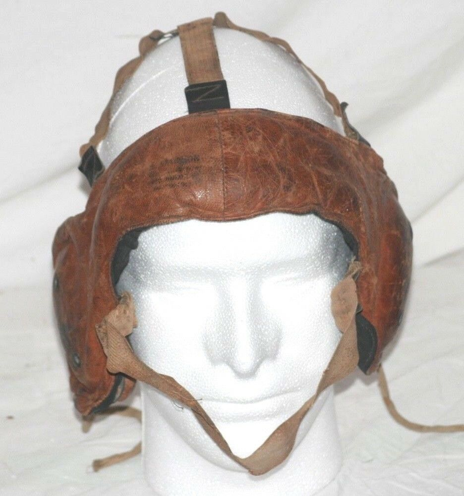 1910's Boxing or Wrestling Leather Headgear, Possibly Could be Football As Well.