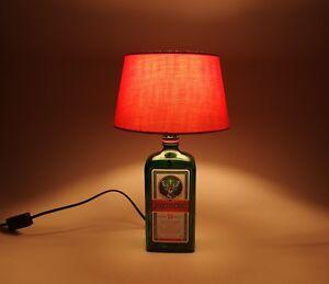 Jaegermeister-Flaschen-Tischlampe-Lampe-LED-220V-Schalter-SEHR-ORIGINELL-S2o