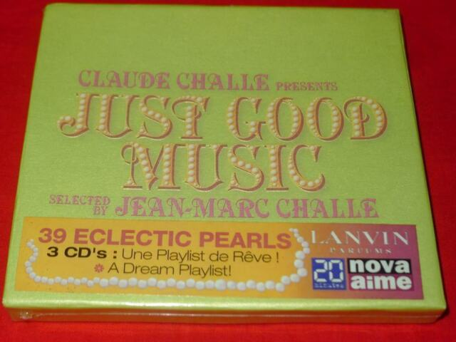 Claude Challe Presents: Just Good Music Mixed by Jean Marc Challe 3 CD BOX SET