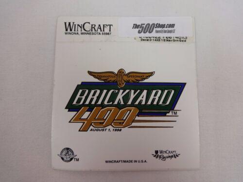 1998 Brickyard 400 Event Collector Decal Dale Jeff Gordon Hendrick Motorsports