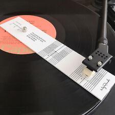 Turntable Phono Cartridge Stylus Alignment Protractor Tool Phonograph Acces Hdc