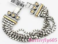 Brighton Rendezvous Silver Gold Bracelet -