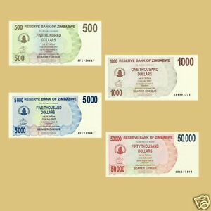 SET-OF-4-ZIMBABWE-NOTES-500-TO-50-000-DOLLARS-UNC