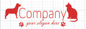 1x-Logodesign-Firmenlogo-Template-022-Vektorgrafik-Hund-Katze-Hundeschule
