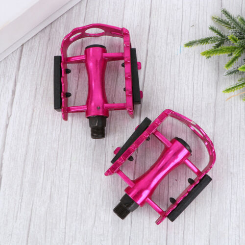 Bike Pedals Practical Durable Treadle for Bike Cycling Bicycles Rosy