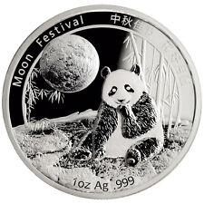 Shenzhen Guobao Mint - Panda Moon Festival 2016 1 oz .999 Silver Medal Proof