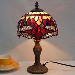 Tiffany-Lampe-Tischleuchte-Tischlampe-Tiffanylampe-Leuchte-Deko