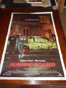 RUNNING-SCARED-1986-BILLY-CRYSTAL-ORIGINAL-ONE-SHEET-POSTER