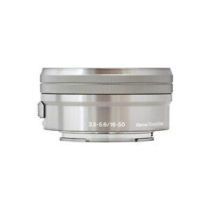 Sony E PZ 16-50mm f/3.5-5.6 OSS Lens for Sony E-Mount Cameras Silver