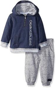 Calvin-Klein-Infant-Boys-Blue-Hoodie-amp-Jogger-Set-Size-3-6M-6-9M-12M-18M-24M