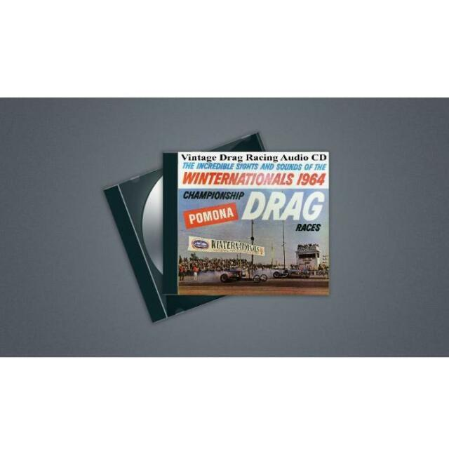 Winternationals 1964 CD - Sounds of Vintage Drag Racing - Remastered Audio CD