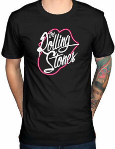 THE-ROLLING-STONES-Neon-Lips-Tongue-T-SHIRT-OFFICIAL-MERCHANDISE