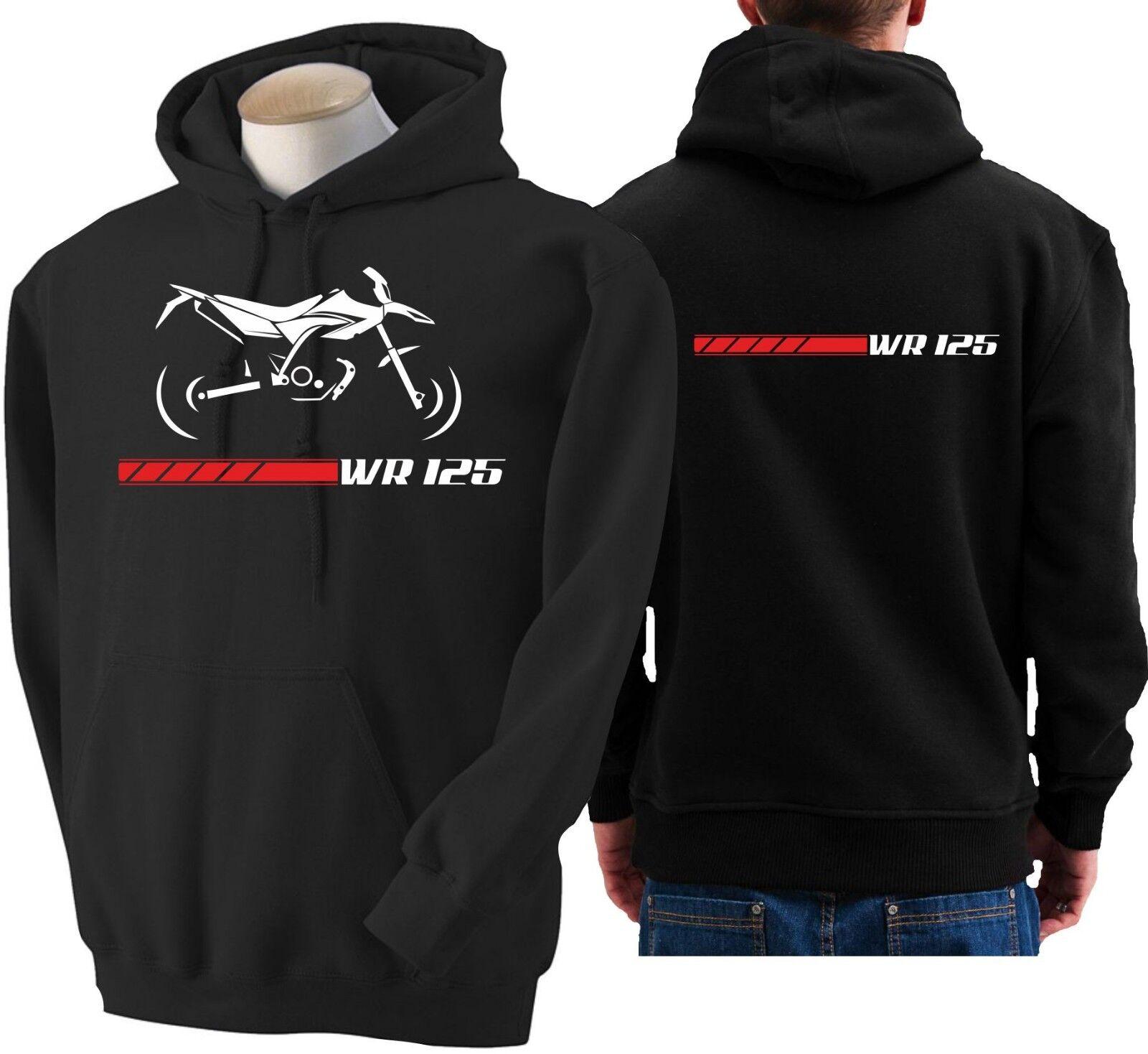 Hoodie for bike YAMAHA WR 125 sweatshirt hoody Sudadera moto WR125 sweater
