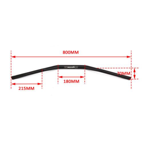 """1 1//8/"""" 28MM Handlebar Handle Fat Bar Aluminum for HONDA CRF XR 125 250 500 150"""
