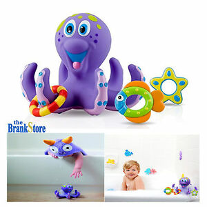 Merveilleux Image Is Loading Baby Bath Toys Kids Bathtub Toy Octopus Hoopla