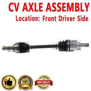 Front Driver CV Axle Shaft For VERSA Standard Transmission L4 1.8L 1798cc