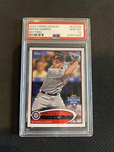 BRYCE HARPER 2012 Topps Update US183 Rookie Card PSA 10 Gem Mint - Phillies RC