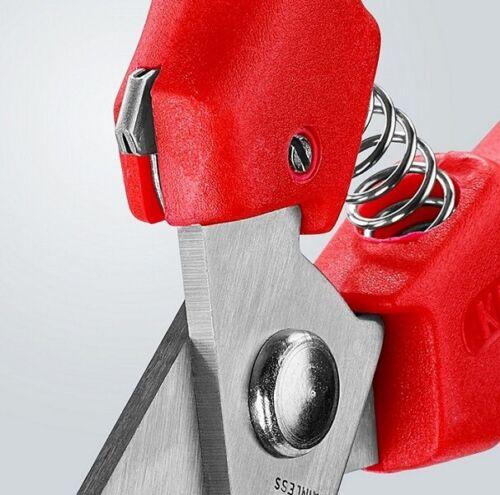 Knipex 95 05 140 Combi Ciseaux Avec Plastique pour injecte 9505140 Coupe Ciseaux