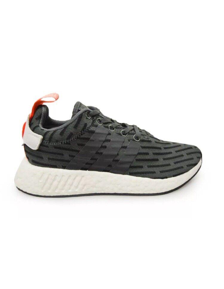 Adidas NMD _ R2 W BA7259 Taille UK 7.5 Baskets EU 41.5 noir vert Pêche blanc