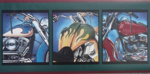 bordeR Decor Harley or Not Beautiful Motor Cycles Wallpaper Wall