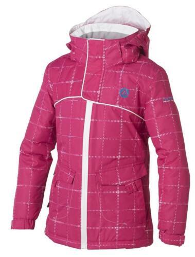 GIRL/'s Dare2b Picchiettatura rosa con motivo a Impermeabile Sci usura e Giacca invernale.