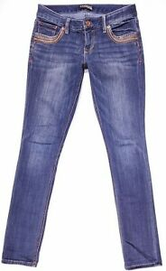 Express-Stella-Ankle-Skinny-Low-Rise-Regular-Fit-Jeans-Size-2-Women-039-s