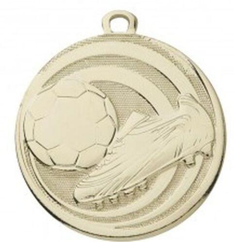 E273 10 Fußball-Medaillen mit Deutschland-Bändern