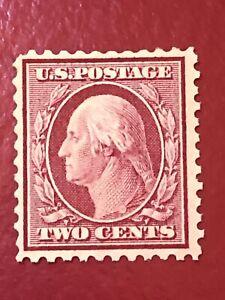 US-SCOTT-Cat-519-MH-OG-Perf-11-TWO-CENT-Stamp-CV-400-Well-Centered-FREE-S-amp-H