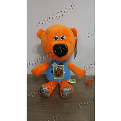 "Soft talking toy ""Bear Keshka"" 30 cm from cartoon Mi-mi-mishki Ми-ми-мишки"