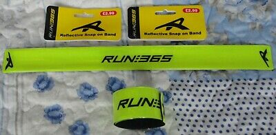 BRAND NEW  10 RUN 365 REFLECTIVE SNAP ON BAND