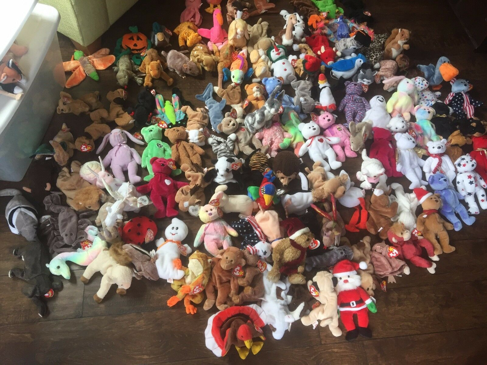 130+ Beanie Baby Collection - Rares Included