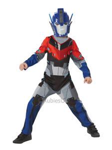 Niños Optimus Prime Disfraz Vestido Elegante Tranformers Clásico Nuevo Traje De Super Héroe  </span>