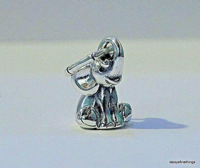 Authentic PANDORA 925 Ale Silver Lucky Elephant Charm Pendant 798069