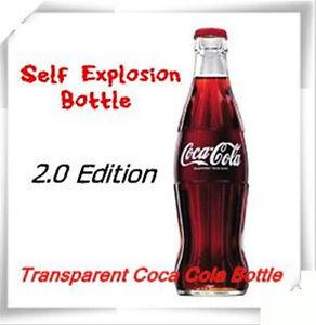6PCS Self Explosion Bottle 2.0 -Transparent Bottle,Mind Magic trick,stage magic