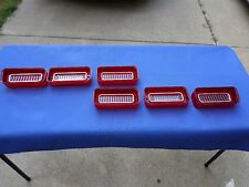 NEW 1969 Chevrolet Chevy Impala BelAir Biscayne Tail Light Lamp Base & Lens Lot