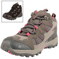 Regatta Childrens Crossland Mid Boots Hill Walking Hiking Waterproof Breathable